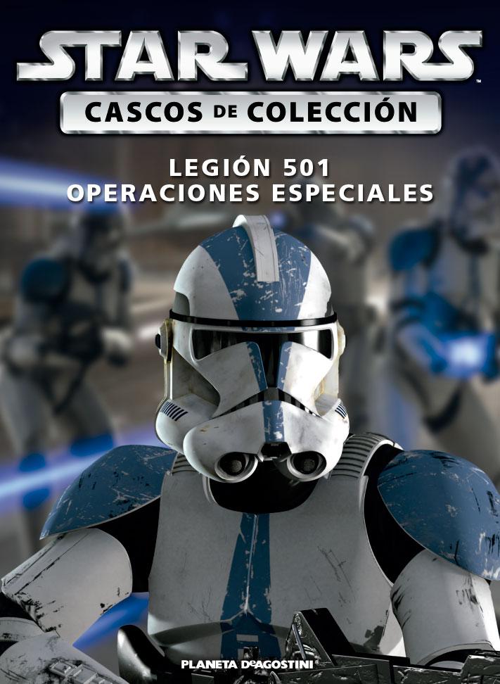 Casco 13: Legión 501 (Operaciones Especiales) + Fascículo 13