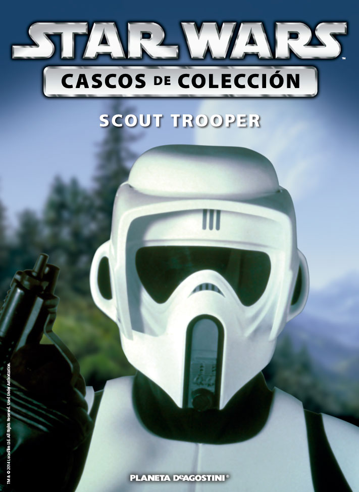 Casco 22: Scout Trooper + Fascículo 22
