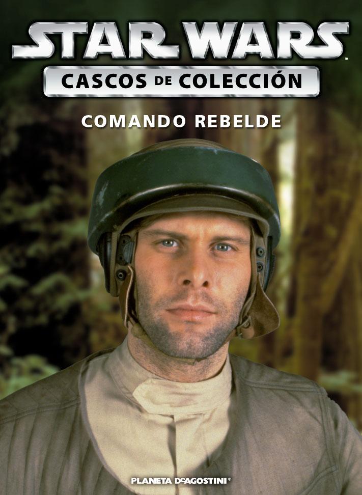 Casco 23: Comando Rebelde + Fascículo 23