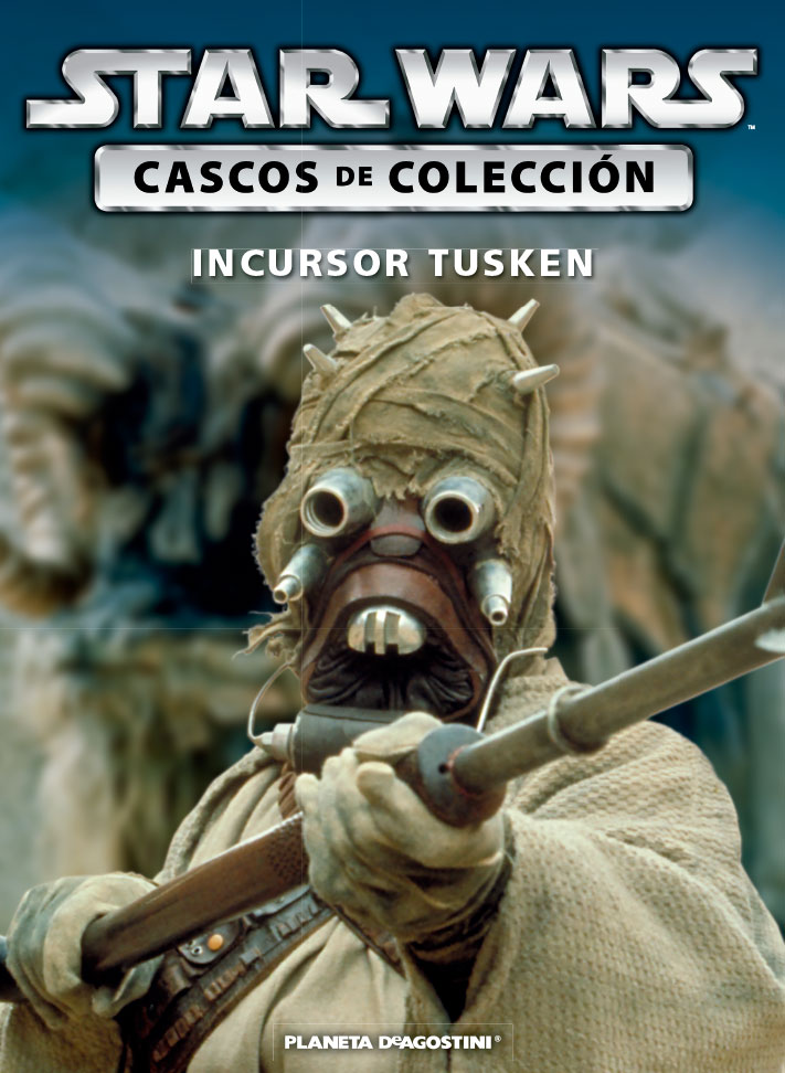 Casco 25: Incursor Tusken + Fascículo 25