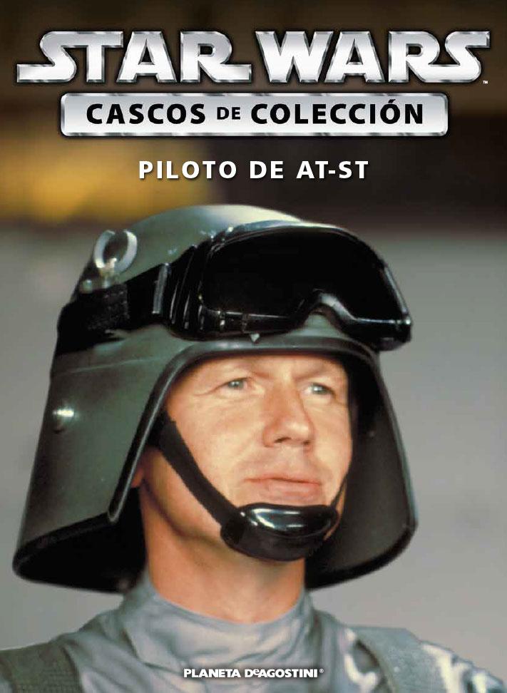 Casco 31: PILOTO DE AT-ST + Fascículo 31