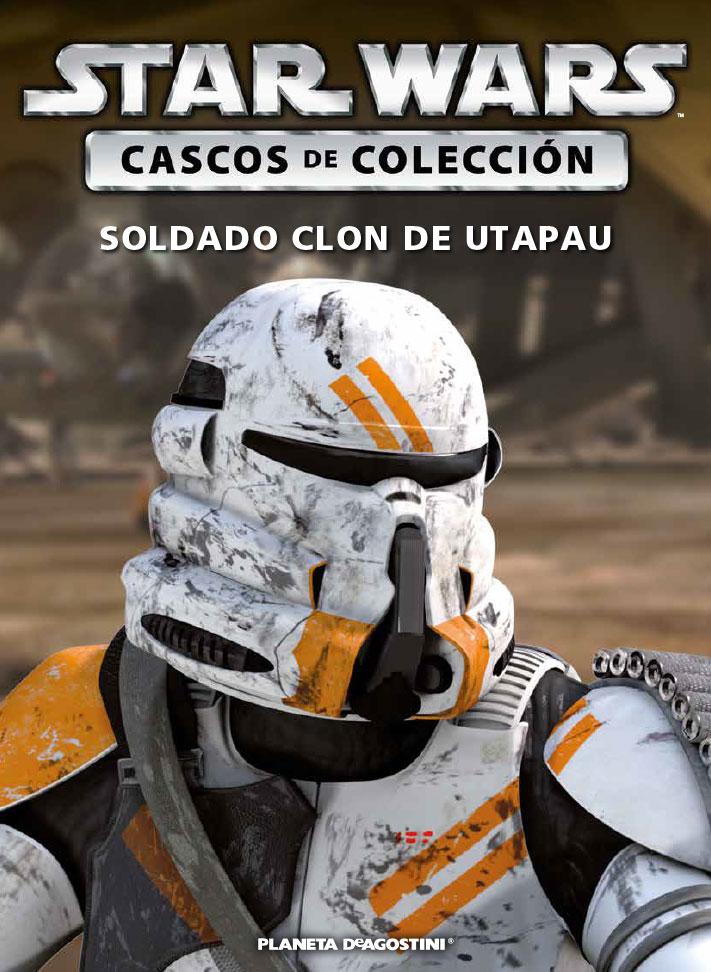 Casco 32: SOLDADO CLON DE UTAPAU + Fascículo 32