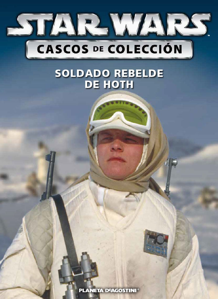 Casco 35: SOLDADO REBELDE DE HOTH + Fascículo 35