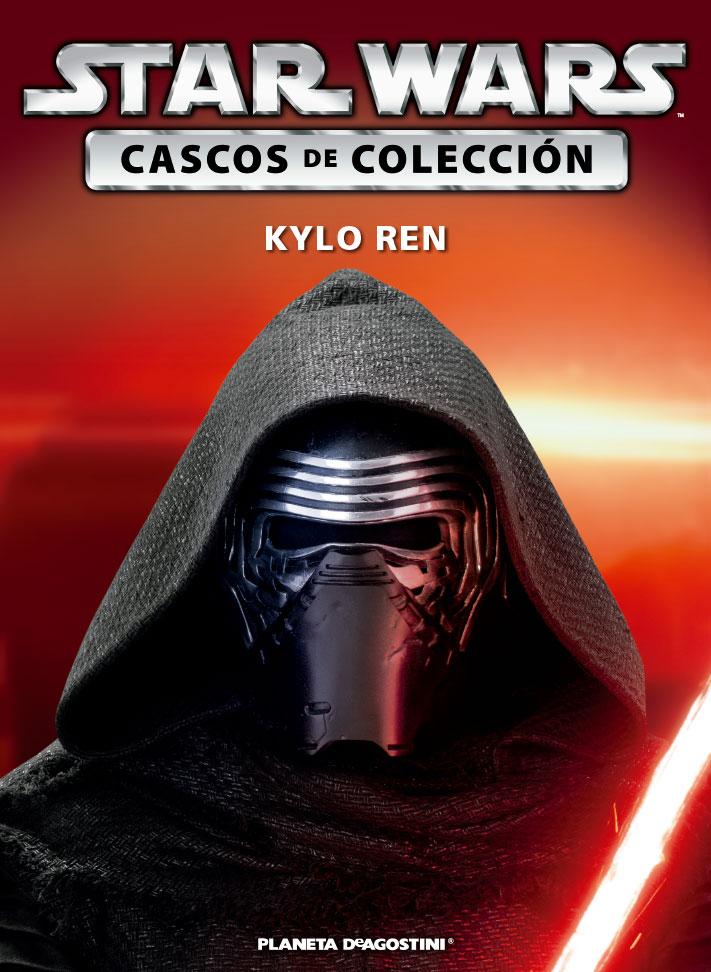 Casco 43: KYLO REN + Fascículo 43