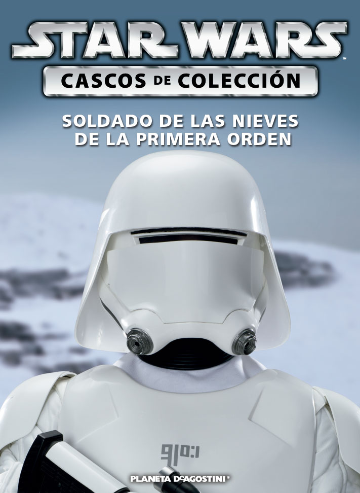 Casco 44: SOLDADO DE LAS NIEVES DE LA PRIMERA ORDEN + Fascículo 44