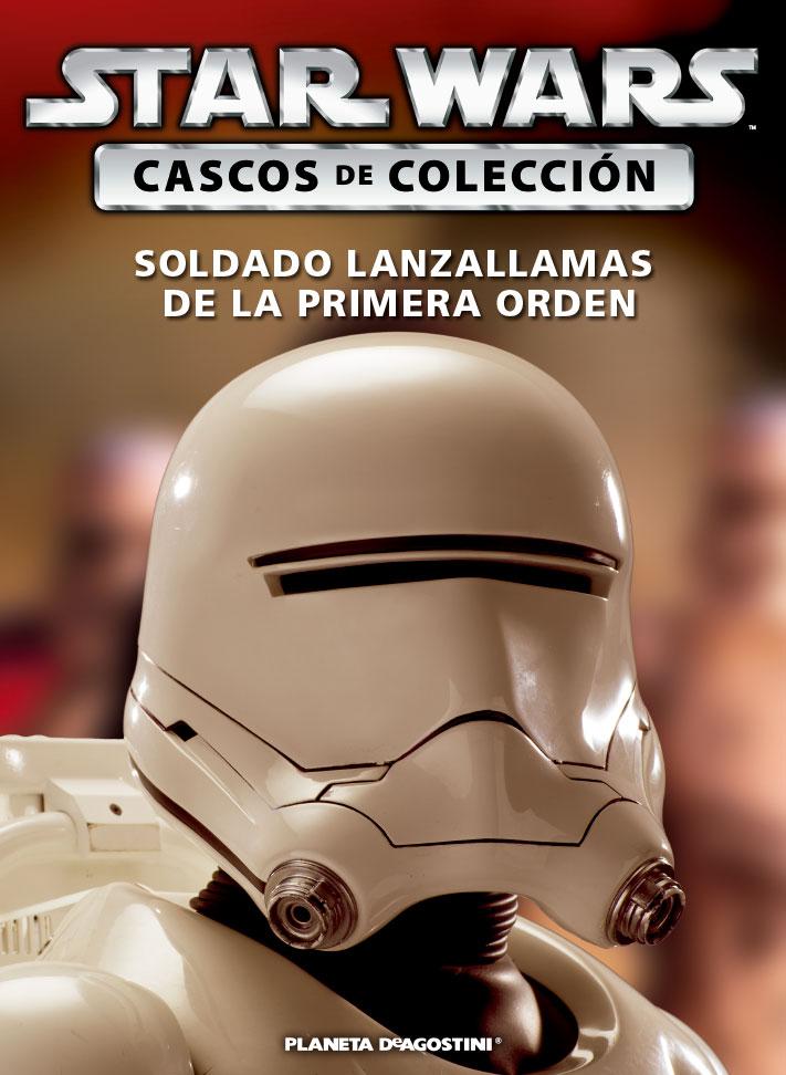 Casco SOLDADO LANZALLAMAS DE LA PRIMERA ORDEN + Fascículo 46