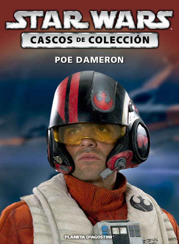 Casco POE DAMERON + Fascículo 49