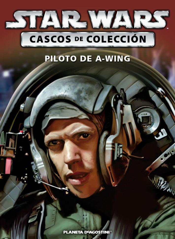 Casco PILOTO DE ALA-A + Fascículo 50