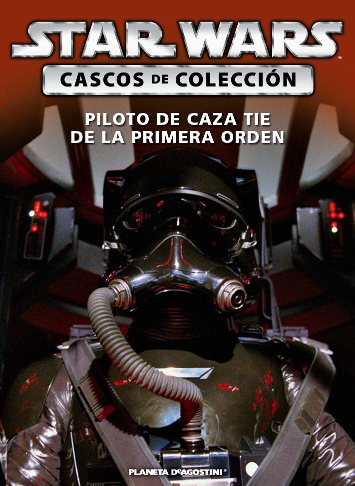 Casco PILOTO DE CAZA TIE DE LA PRIMERA ORDEN + Fascículo 51