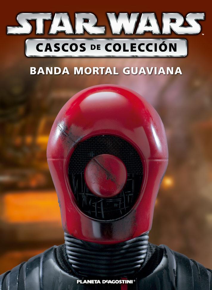 Casco BANDA MORTAL GUAVIANA + Fascículo 56