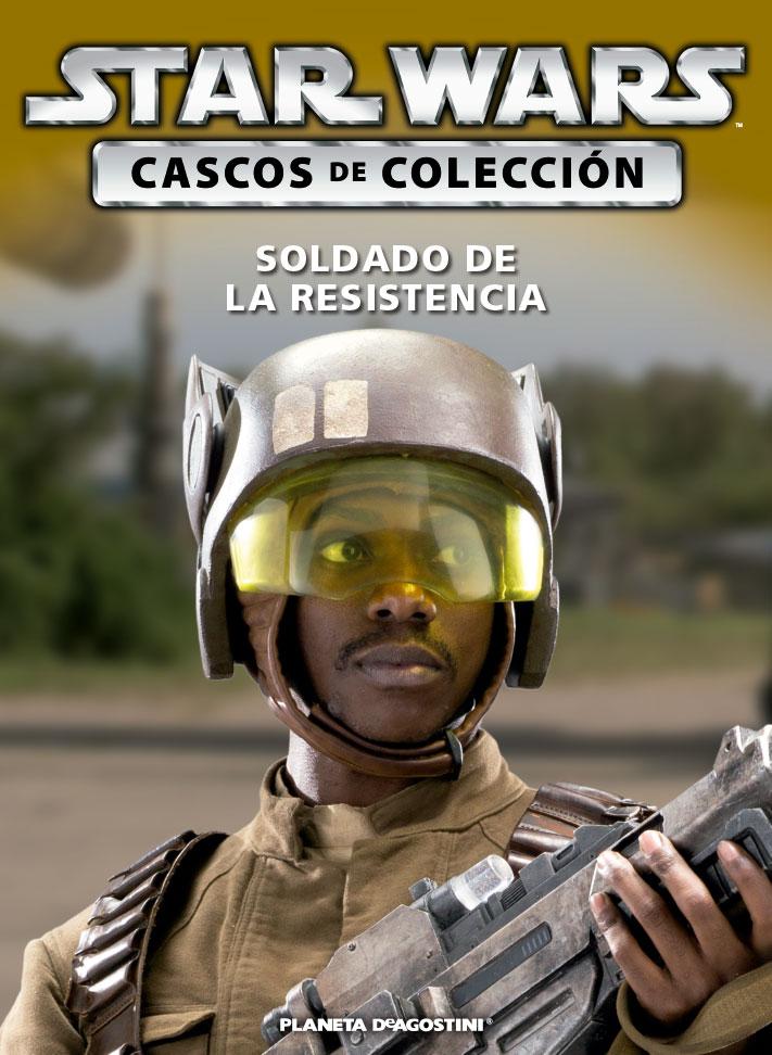 Casco SOLDADO DE LA RESISTENCIA + Fascículo 60