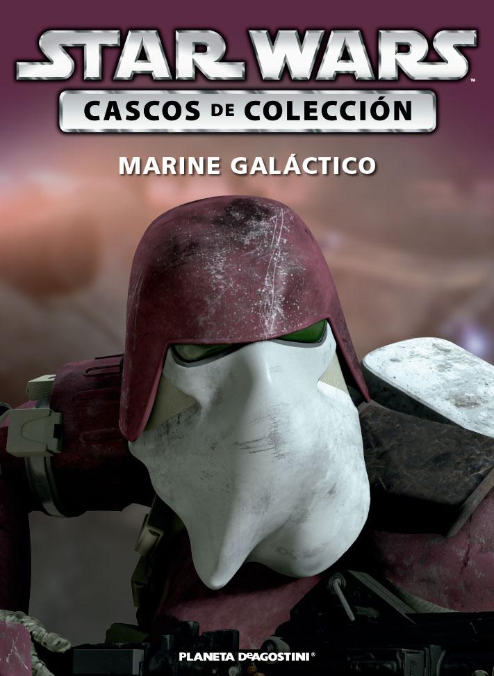 Casco MARINE GALÁCTICO + Fascículo 64