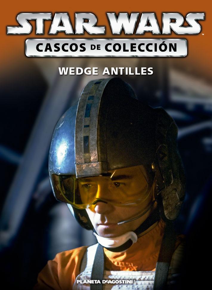 Casco WEDGE ANTILLES + Fascículo 65