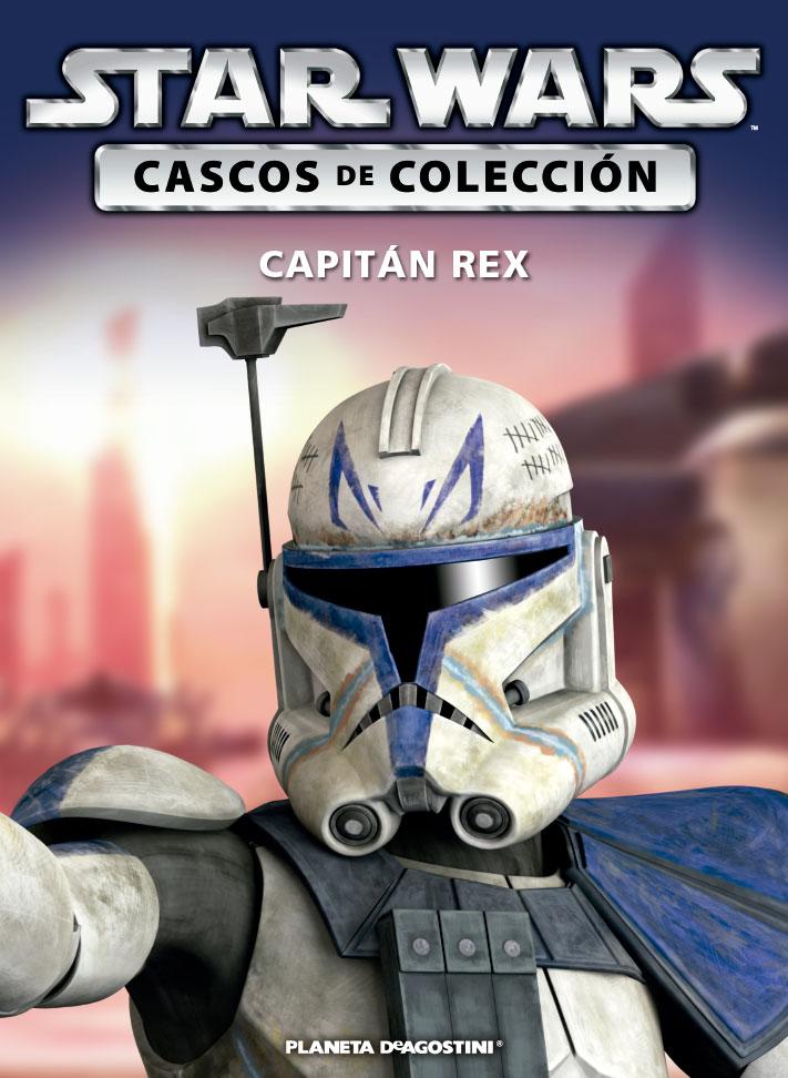 Casco CAPITÁN REX + Fascículo 66