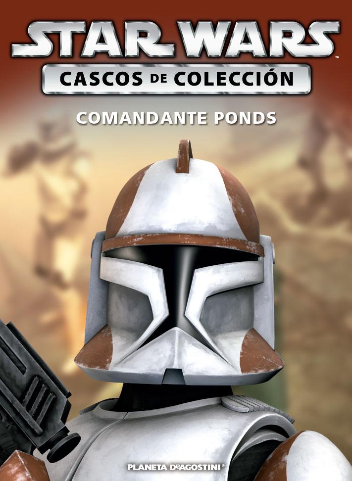 Casco COMANDANTE PONDS + Fascículo 67