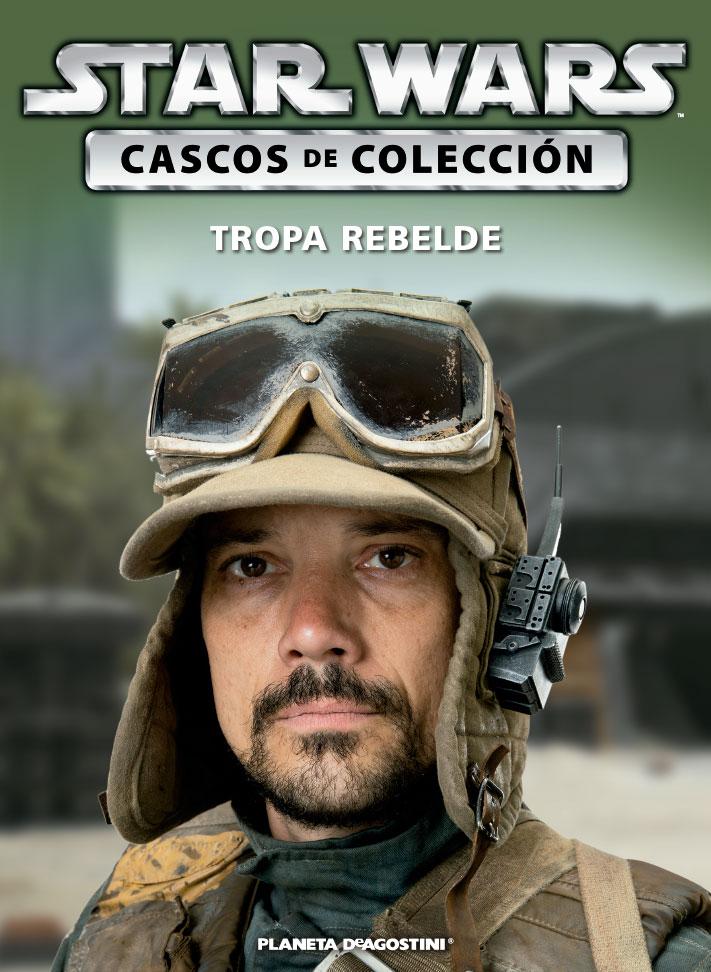 Casco TROPA REBELDE + Fascículo 70