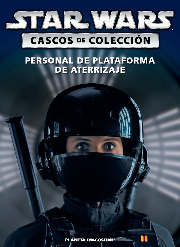 Casco PERSONAL DE PLATAFORMA DE ATERRIZAJE + Fascículo 71