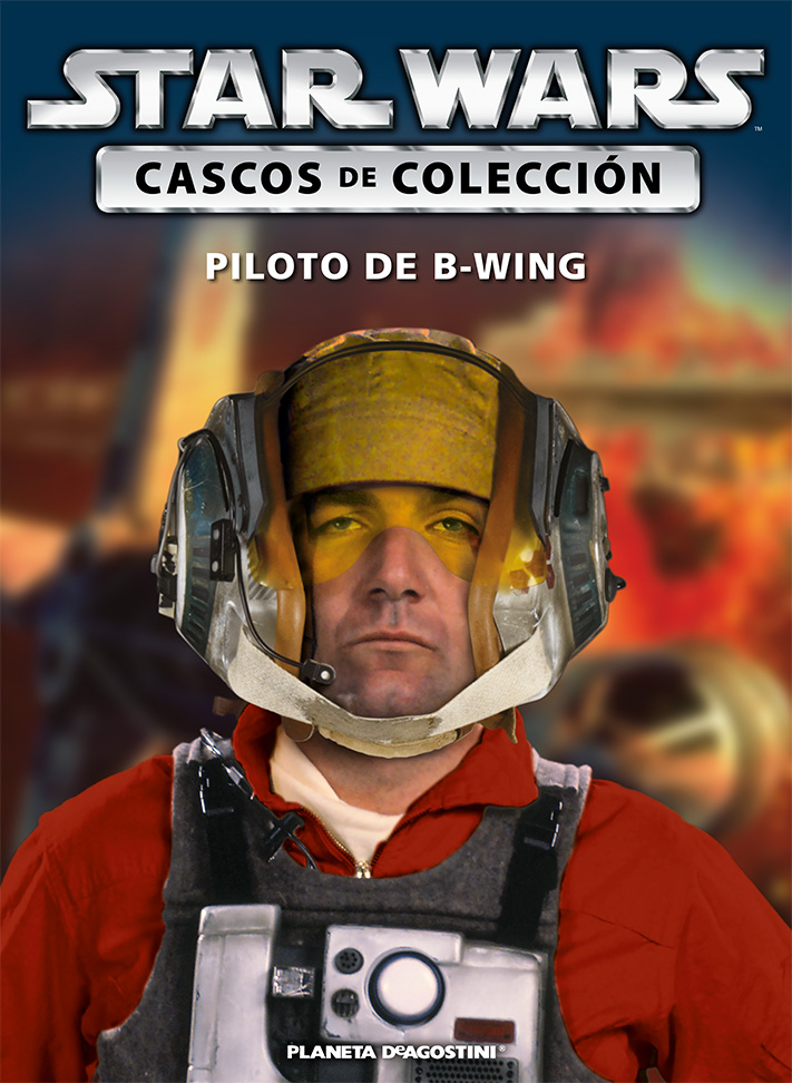 Casco PILOTO DE ALA-B + Fascículo 75