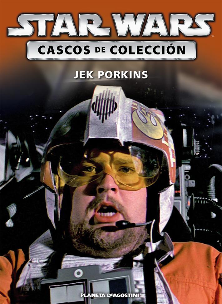 Casco JEK PORKINS + Fascículo 76
