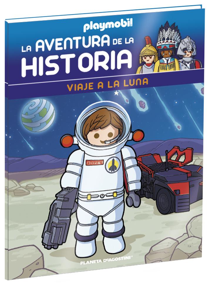 Entrega 3: Viaje a la luna + 2 Fichas + Figura