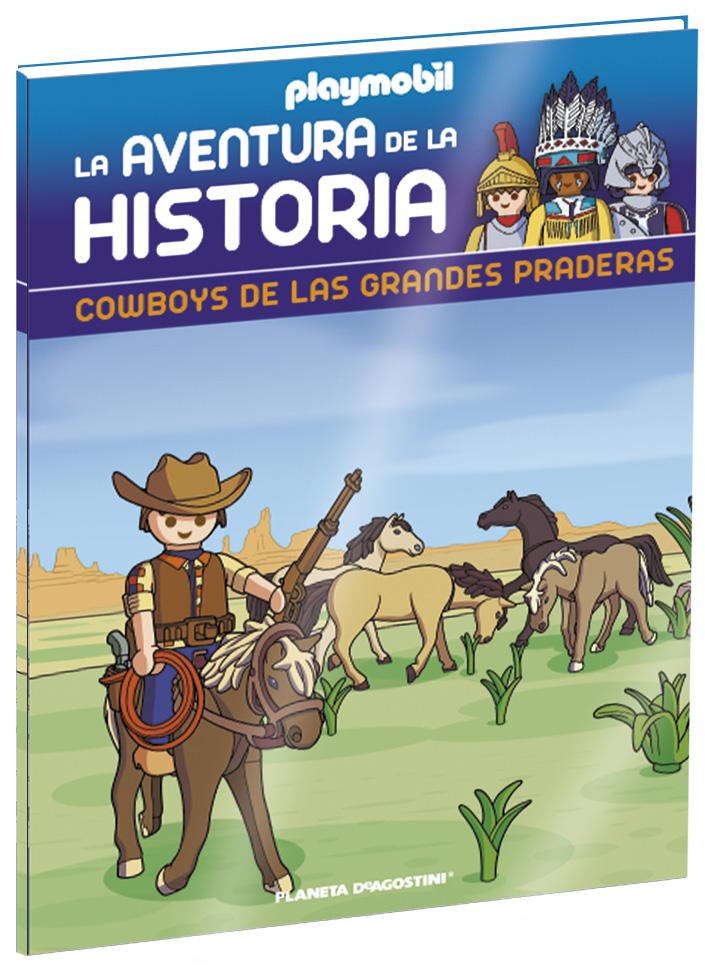 Entrega 7: Cowboys de las grandes praderas + 2 fichas + Figura