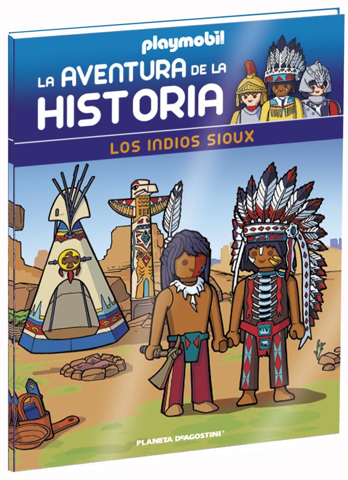 Entrega 9: Los indios Sioux + 2 fichas + Figura