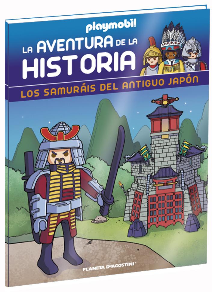 Entrega 11: Los samuráis del antiguo Japón + 2 fichas + Figura