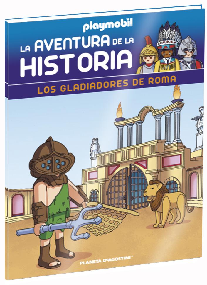Entrega 12: Los gladiadores de Roma + 2 fichas + Figura