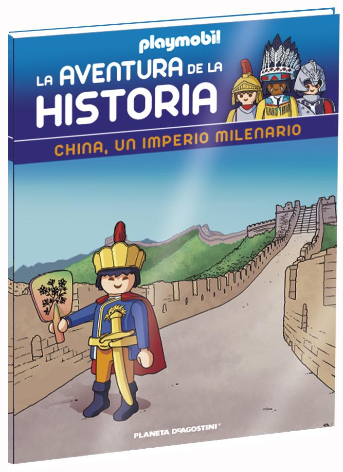 Entrega 13: China, un imperio milenario + 2 fichas + Figura