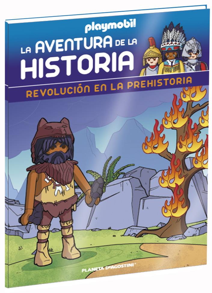 Entrega 14: Revolución en la Prehistoria + 2 fichas + Figura