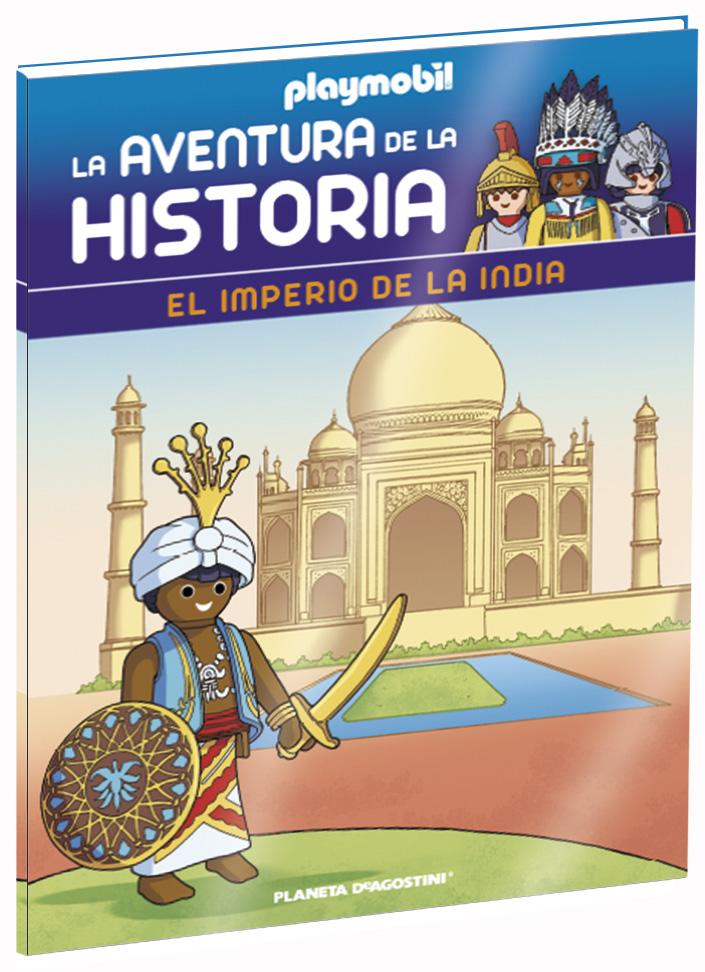 Entrega 16: El imperio de la India + 2 fichas + Figura