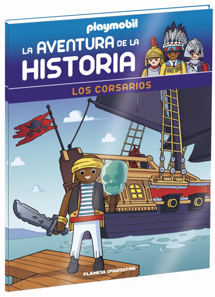Entrega 17: Los corsarios + 2 fichas + Figura