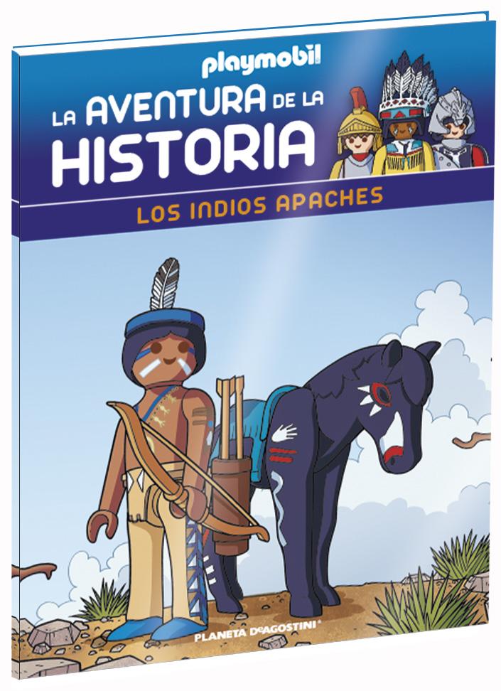 Entrega 18: Los indios apaches + 2 fichas + Figura