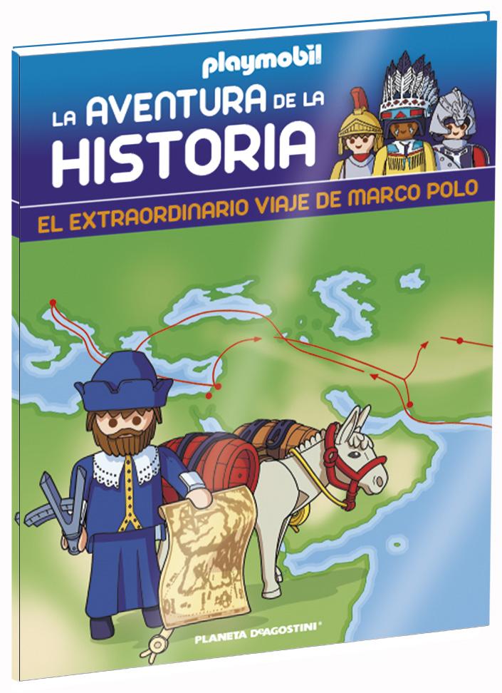 Entrega 20: El extraordinario viaje de Marco Polo + 2 fichas + Figura