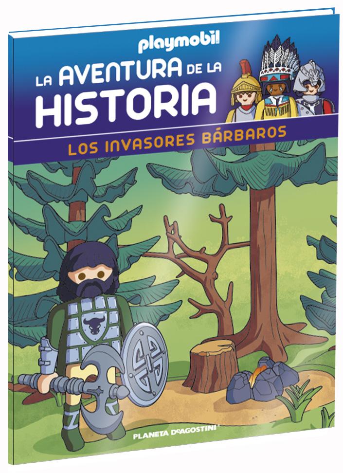 Entrega 21: Los invasores bárbaros + 2 fichas + Figura