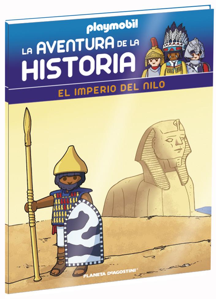 Entrega 22: El imperio del Nilo + 2 fichas + Figura