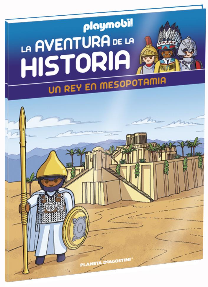 Entrega 25: Un rey en Mesopotamia + 2 fichas + Figura
