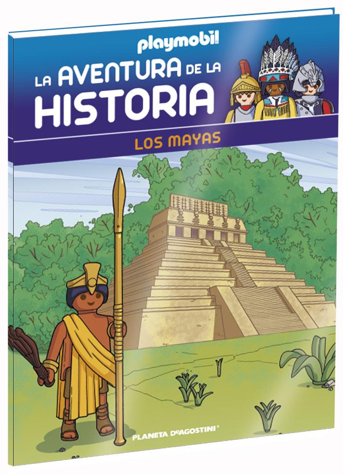 Entrega 26: Los mayas + 2 fichas + Figura