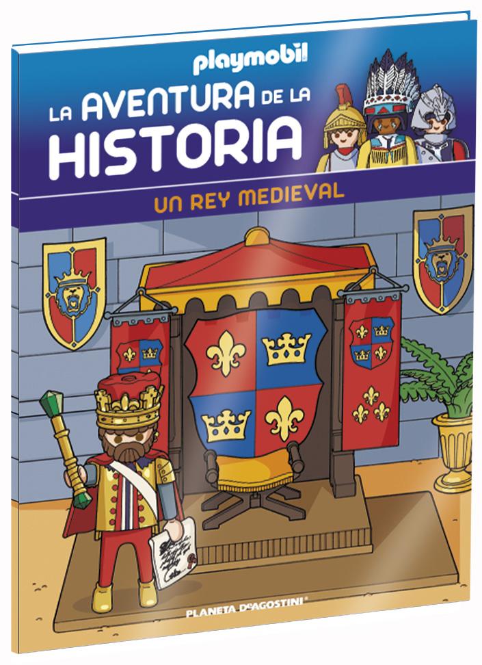 Entrega 28: Un rey medieval + 2 fichas + Figura