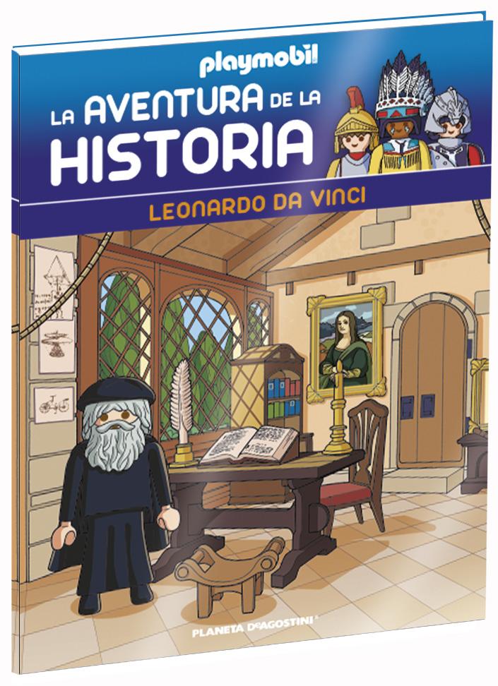 Entrega 30: Leonardo Da Vinci + 2 fichas + Figura