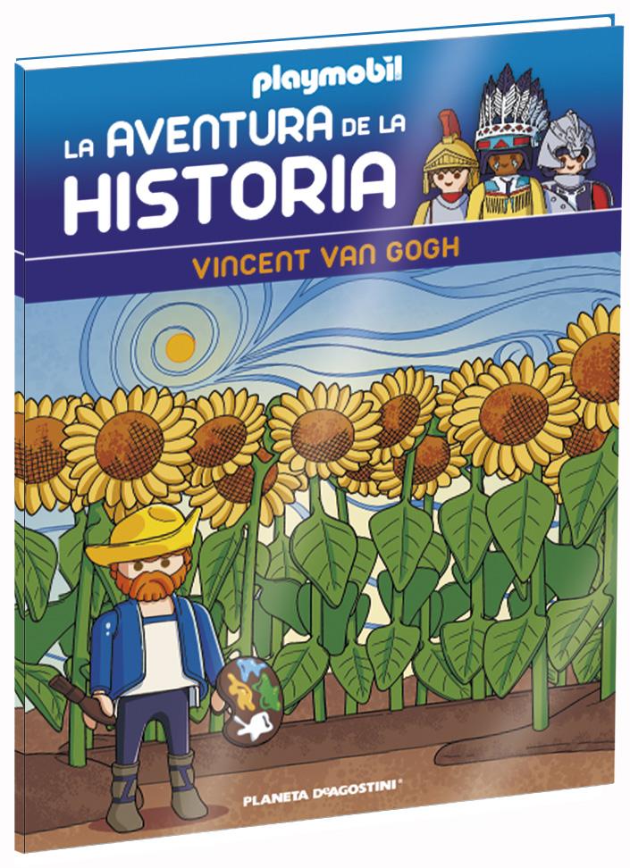 Entrega 36: Vincent Van Gogh + 2 fichas + Figura