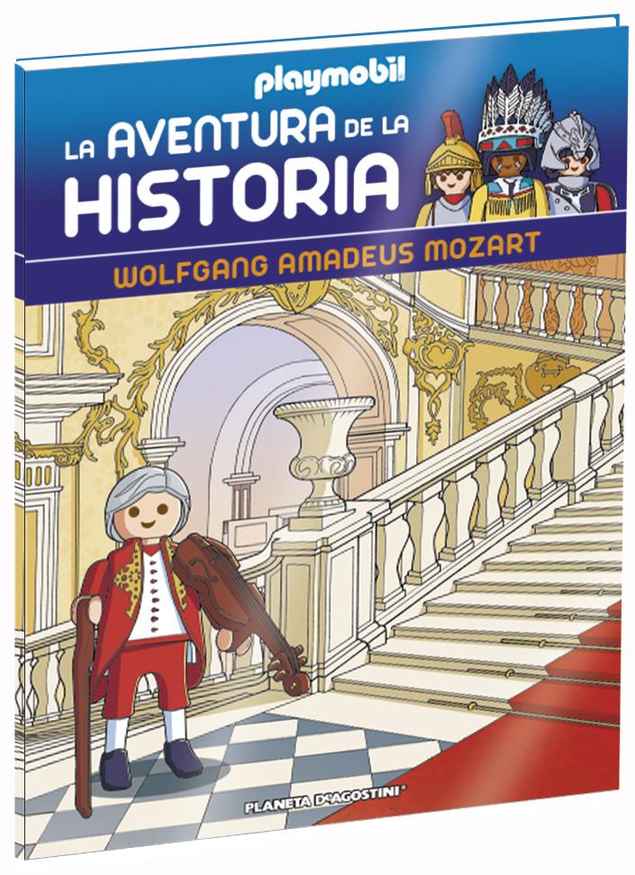 Entrega 37: Wolfgang Amadeus Mozart + 2 fichas + Figura