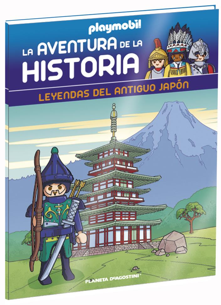 Entrega 40: Leyendas del antiguo Japón + 2 fichas + Figura