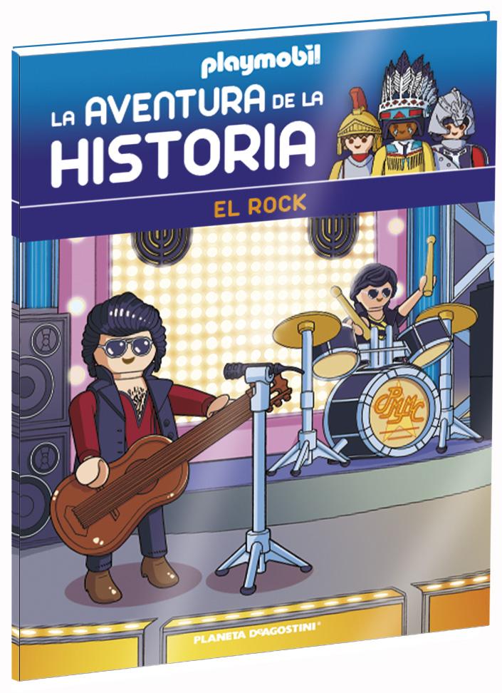 Entrega 41: El Rock + 2 fichas + Figura