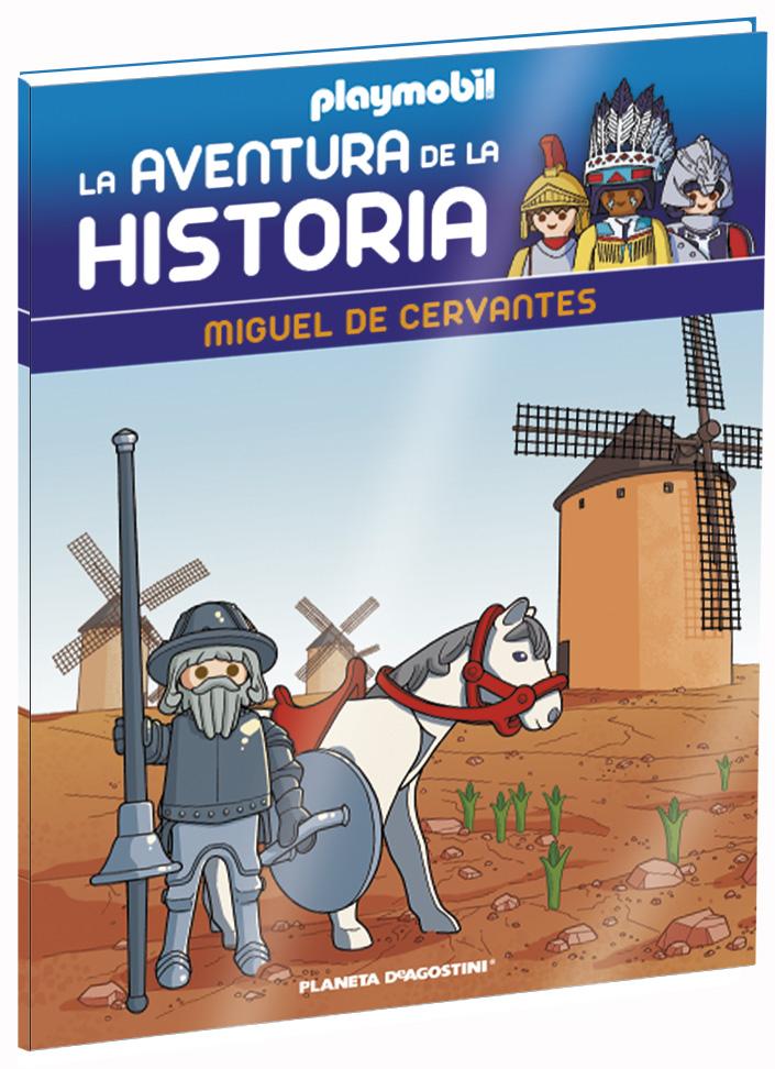 Entrega 44: Miguel de Cervantes + 2 fichas + Figura