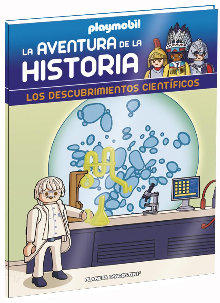 Entrega 45: Los descubrimientos científicos + 2 fichas + Figura