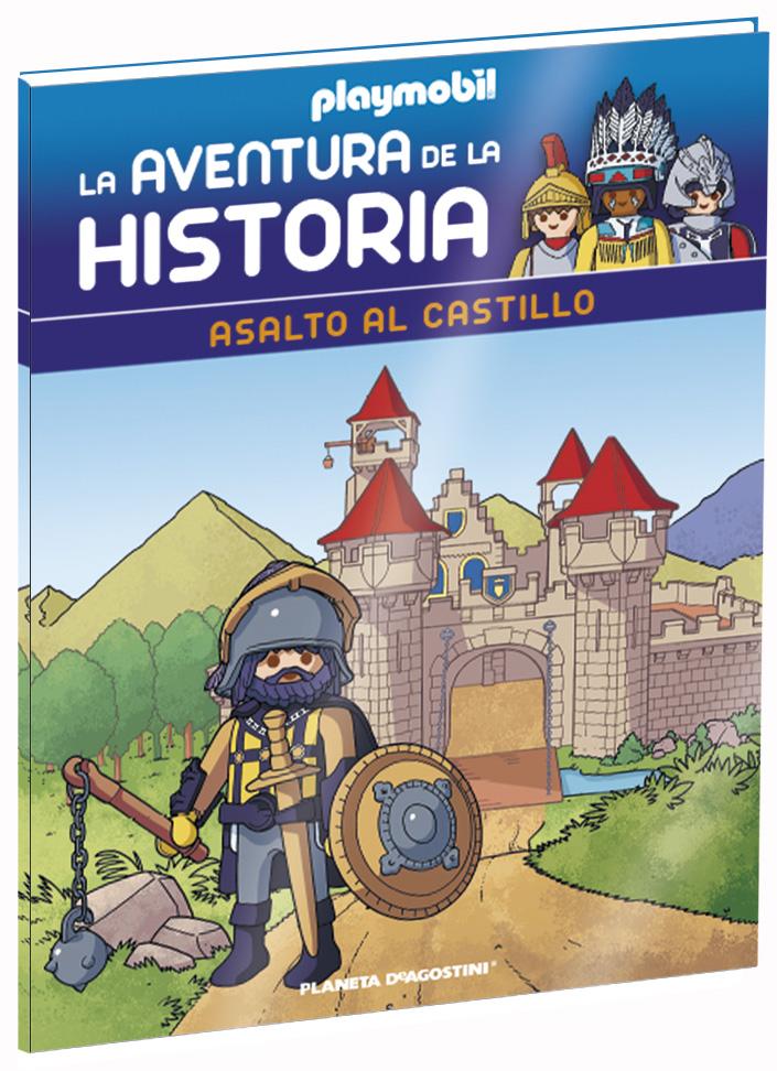 Entrega 46: Asalto al castillo + 2 fichas + Figura