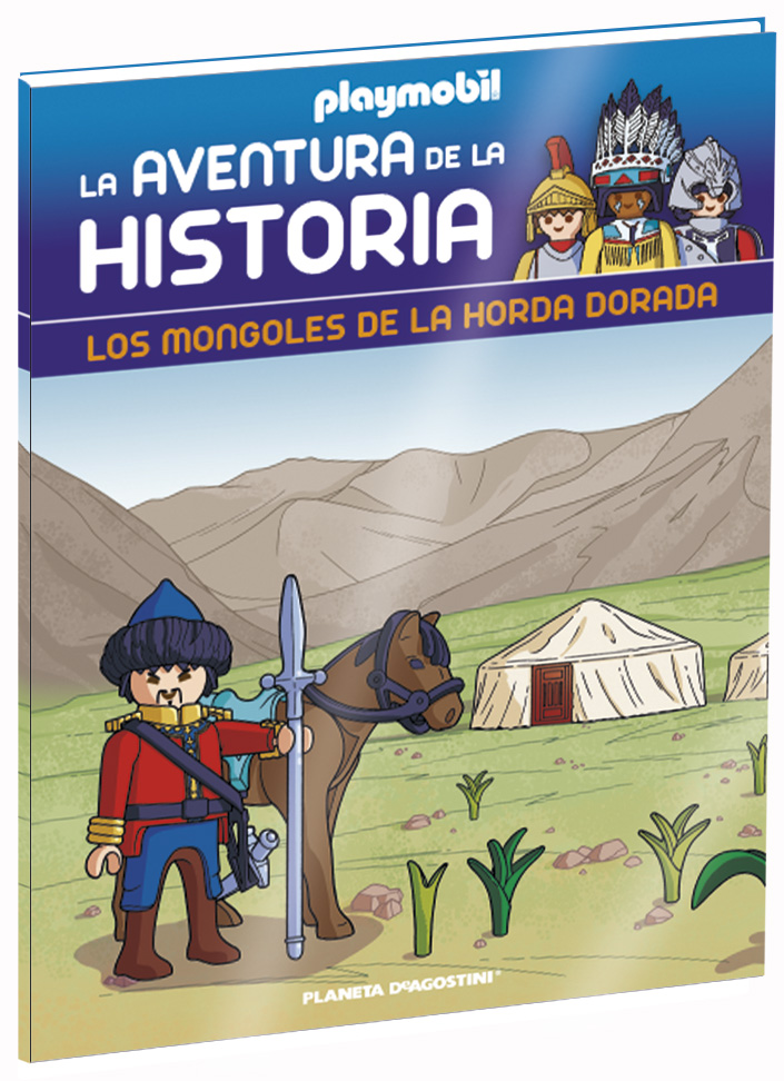 Entrega 50: Los mongoles de la Horda Dorada + 2 fichas + Figura