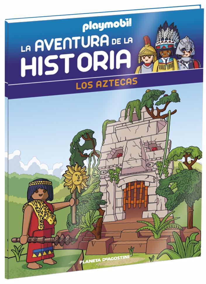 Entrega 53: Los Aztecas + 2 fichas + Figura