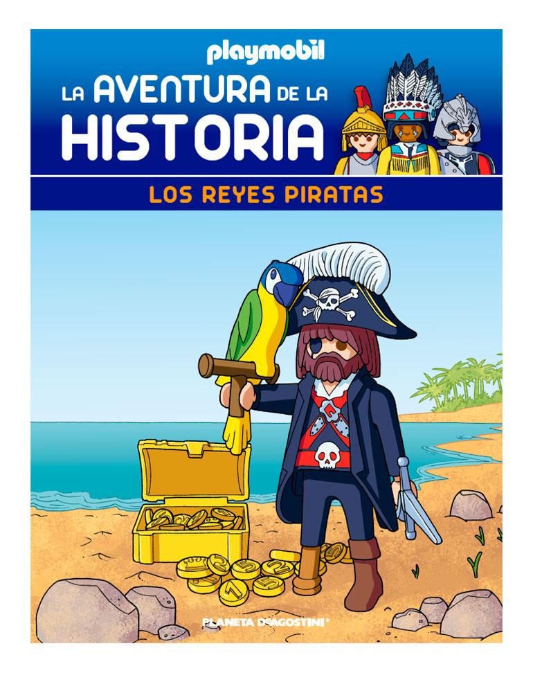 Entrega 61: Los reyes piratas + 2 fichas + Figura